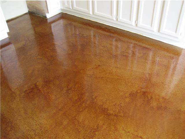 Cretesealers atlanta acid staining concrete staining for How to clean concrete floors before staining
